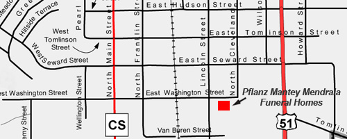 Poynette street map